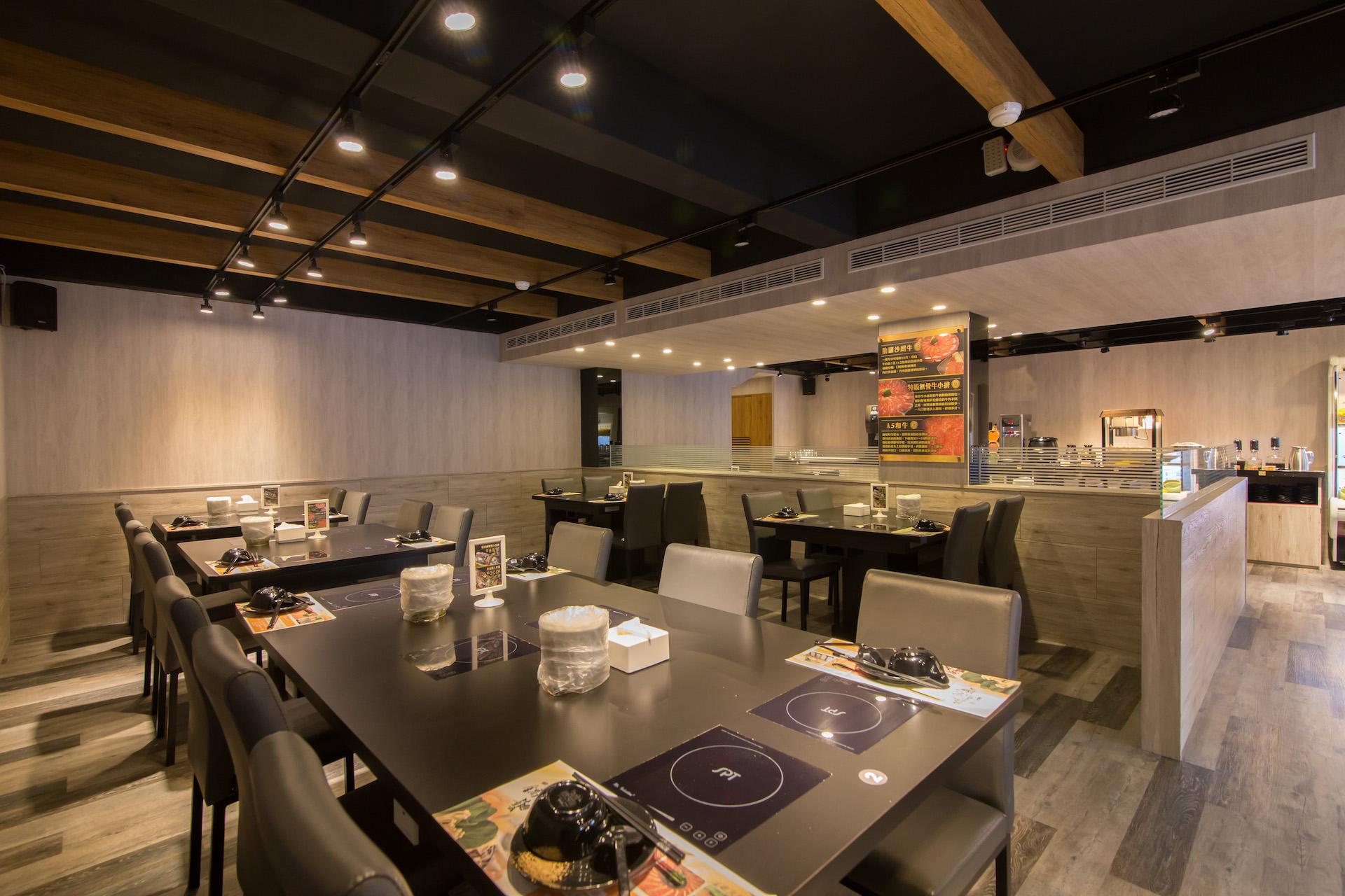 蔬鍋藝 林口店舒適的用餐環境
